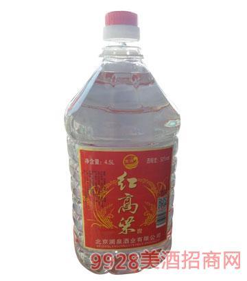澜泉酒业红高粱酒50度4.5L