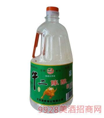 澜泉酒业牛二陈酿酒42度1L
