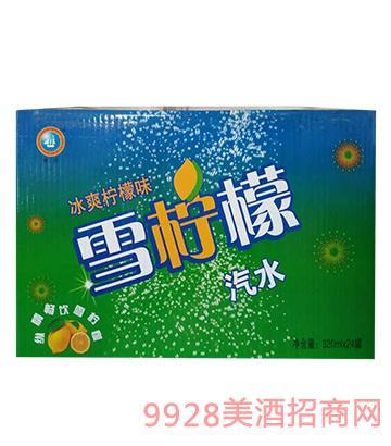 雪��檬汽水易拉罐320mlX24罐