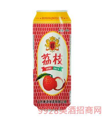 荔枝味果味饮料易拉罐装500ml