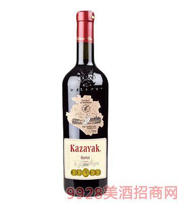 天鹅庄金奖美乐窖藏干红葡萄酒