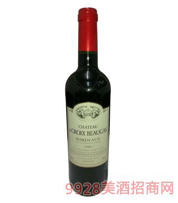 博佳十字城堡干红葡萄酒