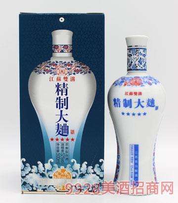 精制大曲酒(蓝)