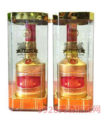 五粮液股份有限公司东方娇子酒珍酿土豪金52度500ml浓香型