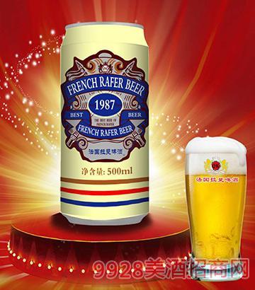 法国拉斐啤酒罐装500ml