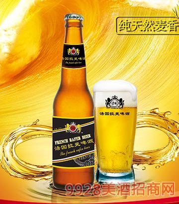 法国拉斐啤酒棕瓶330ml
