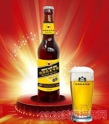 法国拉斐啤酒黄标330ml