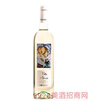 阿莱西亚城堡干白葡萄酒