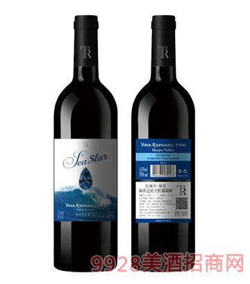 智利拉斐尔・蒂尼酒庄海洋之星干红葡萄酒