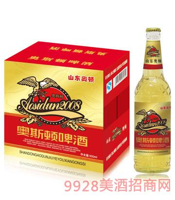 奥斯顿啤酒500mlx12瓶(红标)