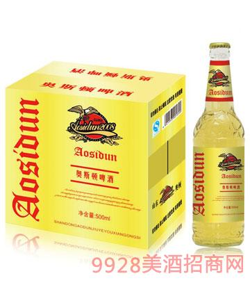奥斯顿啤酒500mlx12瓶(金标)