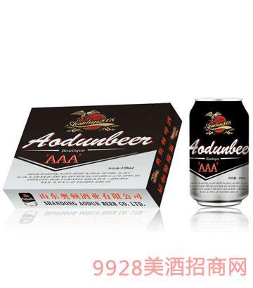 奥斯顿啤酒3A-330ml×24罐装