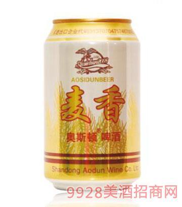 奥斯顿啤酒麦香330ml
