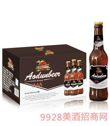 奥斯顿啤酒3A-330ml×24瓶