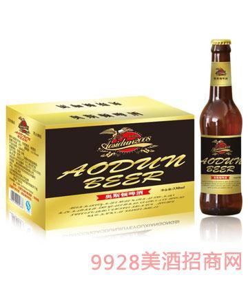 奥斯顿啤酒330ml×24瓶装黑标