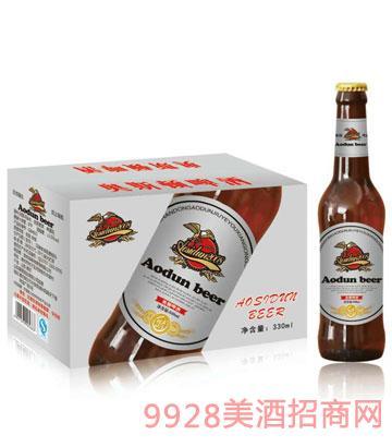 奥斯顿啤酒初麦原汁330mlx24箱装(银标)