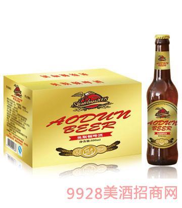 奥斯顿啤酒初麦原汁330mlx24箱装(金标)