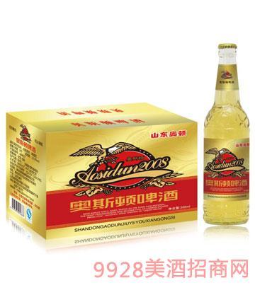 奥斯顿啤酒330mlx24箱装(红标)