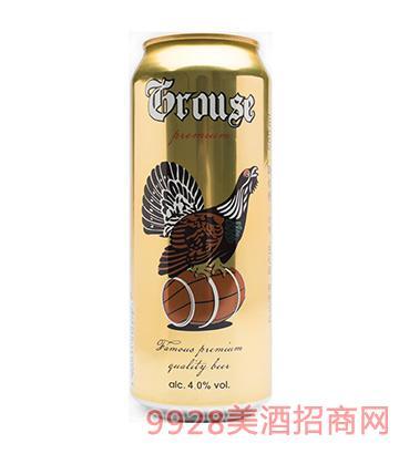 松鸡啤酒500mlx24罐