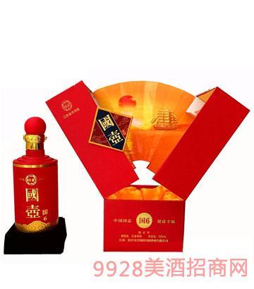洋河国壶酒国6红