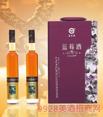龙卧春蓝莓酒礼盒