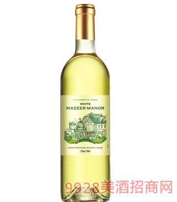 750ml12%vol玛泽尔干白葡萄酒