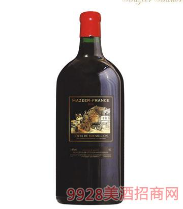 6L14%vol玛泽尔干红葡萄酒
