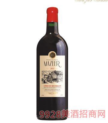3L14%vol玛泽尔干红葡萄酒