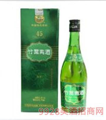 45度牧童竹葉青酒