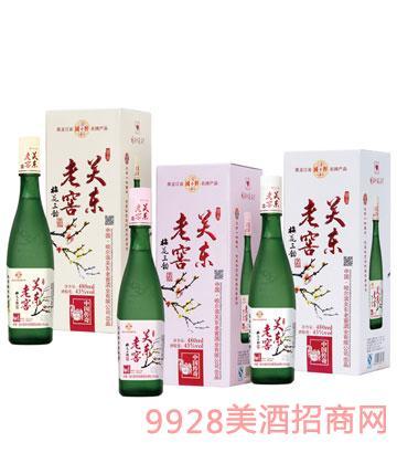 关东老窖酒梅花三韵(精品)