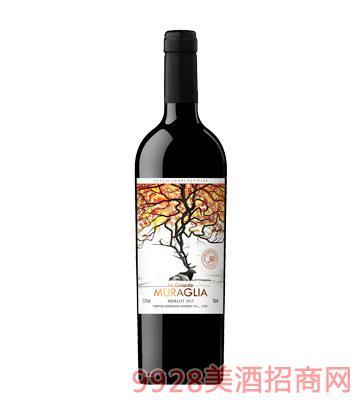 拉穆城堡梅洛干红葡萄酒