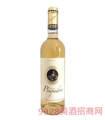 JK018蓬帕杜侯爵夫人干白葡萄酒