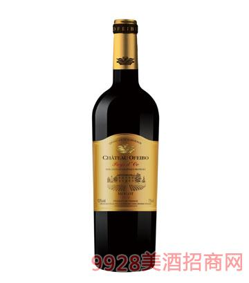 JK021欧菲堡波尔多干红葡萄酒