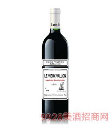 白马康帝老瓦珑庄园干红葡萄酒