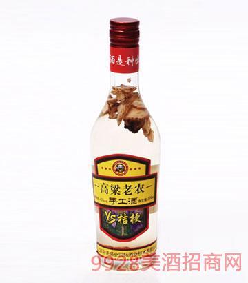 高粱老农手工酒桔梗500mlx12瓶
