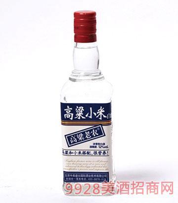 高粱小米白酒52度500mlx12瓶浓香型