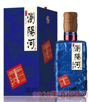 浏阳河酒绵柔窖酒尊品500ml浓香型