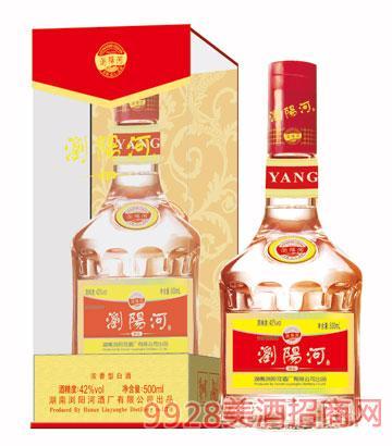 浏阳河酒醇品42度500ml浓香型