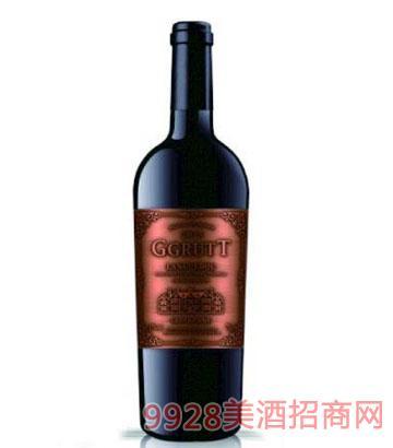 法国格鲁特城堡干红葡萄酒750ml