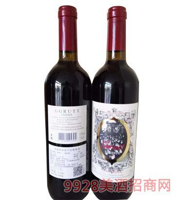 法国格鲁特传奇干红葡萄酒750ml