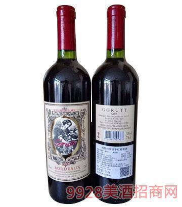 法国格鲁特传说干红葡萄酒750ml