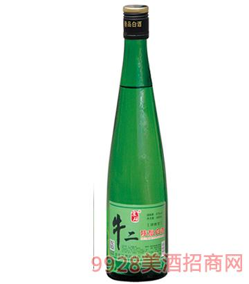 京硕牛二陈酿白酒45度400ml