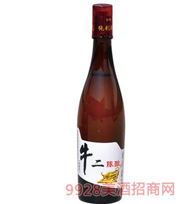 京德旺酒业牛二陈酿白酒