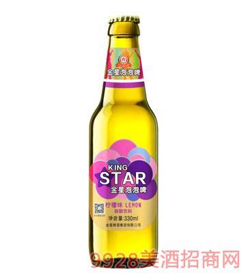 金星啤酒泡泡啤330ml×24瓶