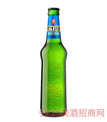 金星啤酒精纯新一代398ml×12