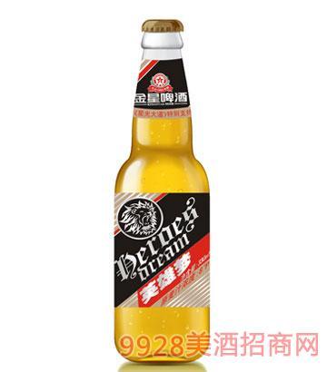 金星啤酒英雄梦夜场酒330mlx24