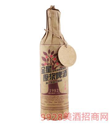 金星啤酒原浆10°P-750mlx12瓶