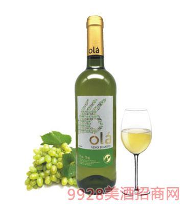 西班牙欧拉干白葡萄酒
