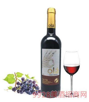 西班牙欧拉干红葡萄酒