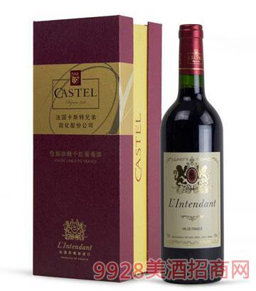 法国伦都珍藏干红葡萄酒